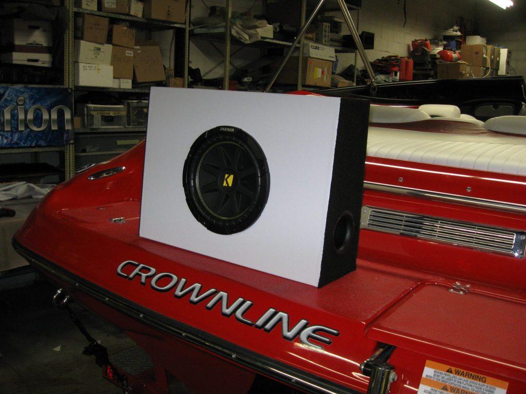 Marine sound system installation Oakville Mississauga