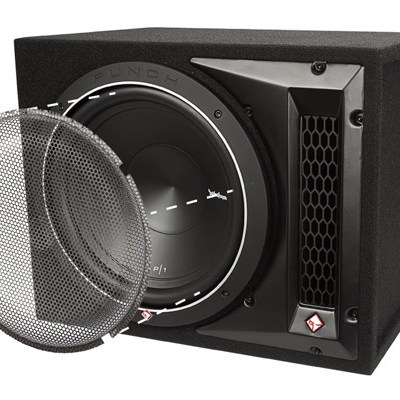 "ROCKFORD FOSGATE - P1-1X10 Single P1 10"" Loaded Enclosure Oakville"