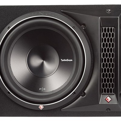 "ROCKFORD FOSGATE - B-P3S-1X12 Single P3 12"" Shallow Loaded Enclosure Oakville"