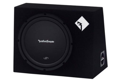 "ROCKFORD FOSGATE - R1-1X12 Single Prime R1 12""  200 Watt Loaded Enclosure Oakville"