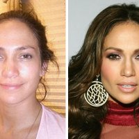 Jennifer Lopez without the Help of Makeup