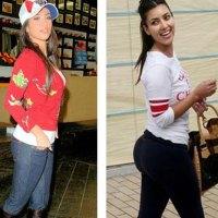 Kim Kardashian Proves she is Implant Free
