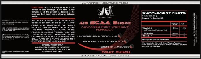 AIS BCAA Shock (Fruit Punch)