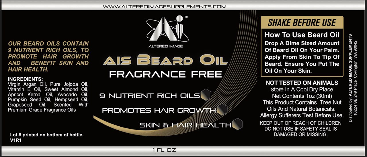 AIS Beard Oil (Fragrance Free)