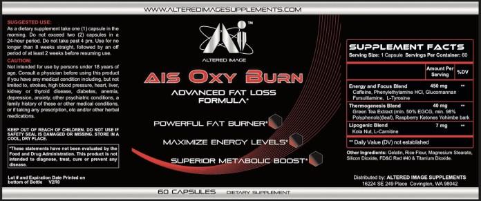AIS Oxy Burn