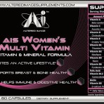 AIS Womans Multi Vitamin