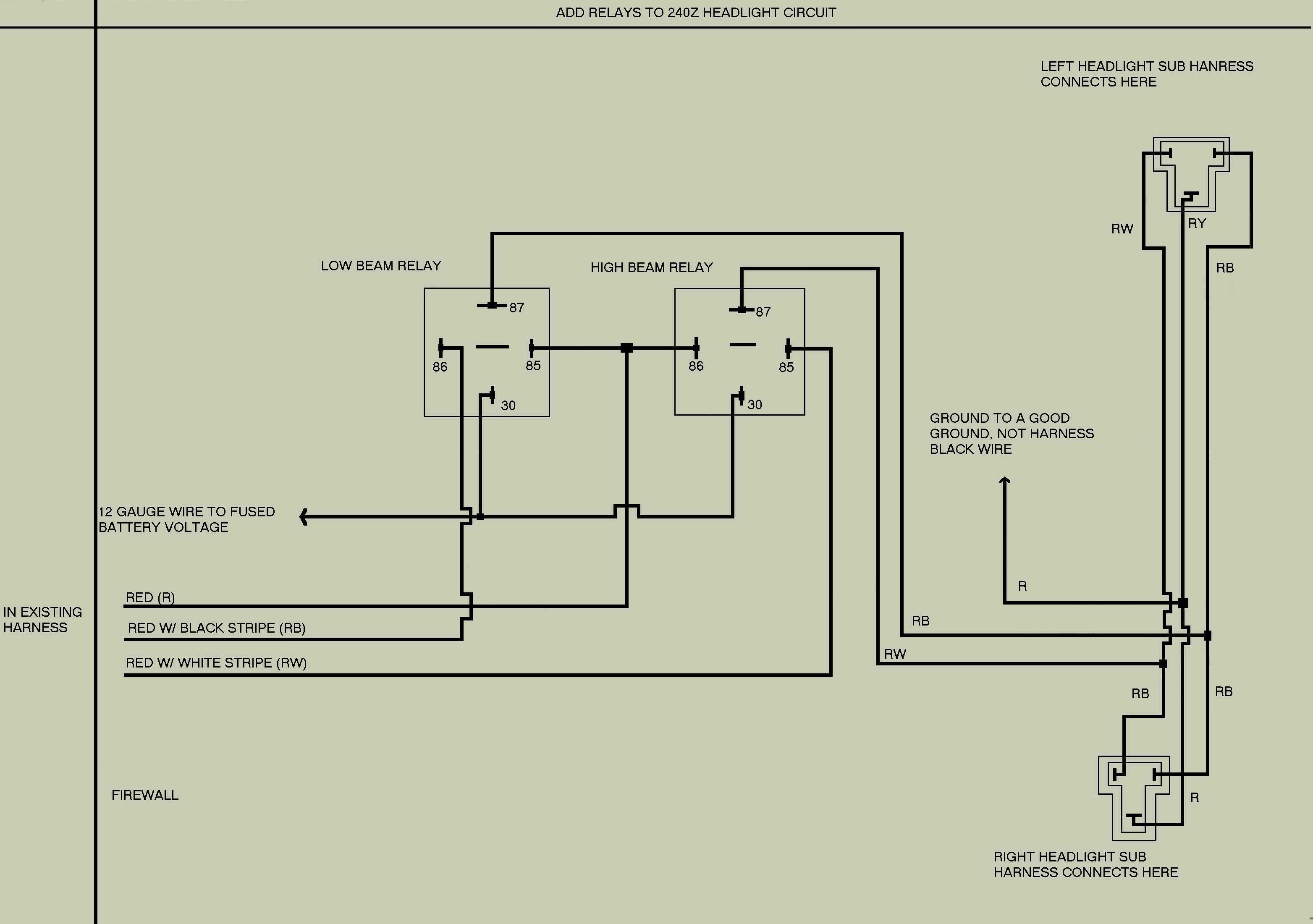 EZ Wiring Headlight Help