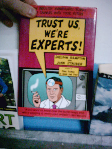 """""""Trust us, we're experts"""" by flickr/phauly"""