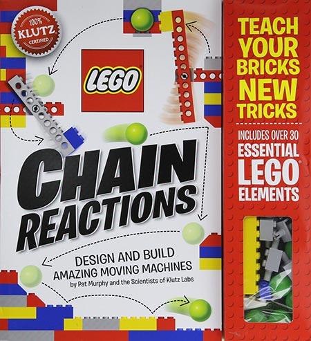 9. Klutz LEGO Chain Reactions Craft Kit