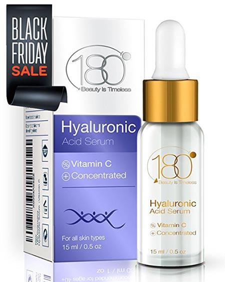 11. 80 Cosmetics Hyaluronic Acid Serum