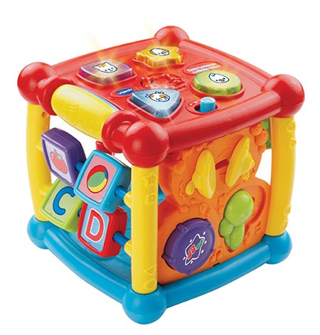 12. VTech Busy Learners Activity Cube