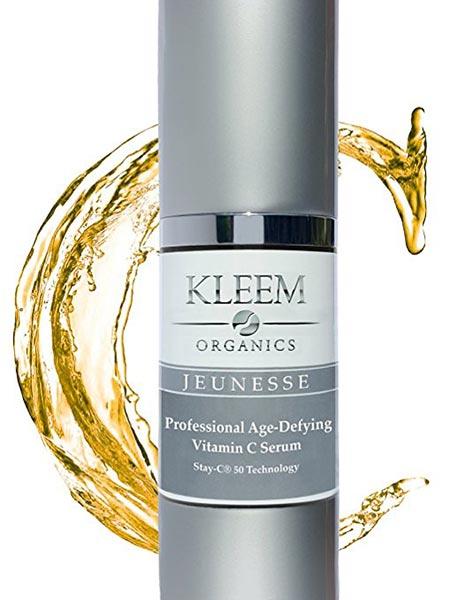 1. Kleem Organics Anti Aging Vitamin C Serum for Face