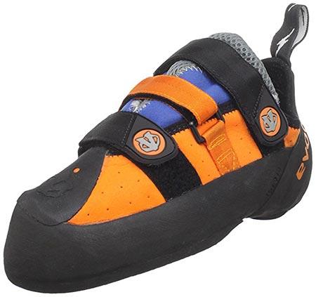 4. evolv Men's Shaman Climbing Shoe
