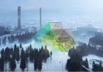 This Rainbow Dome in Sweden is Actually a Power Plant and Public Park
