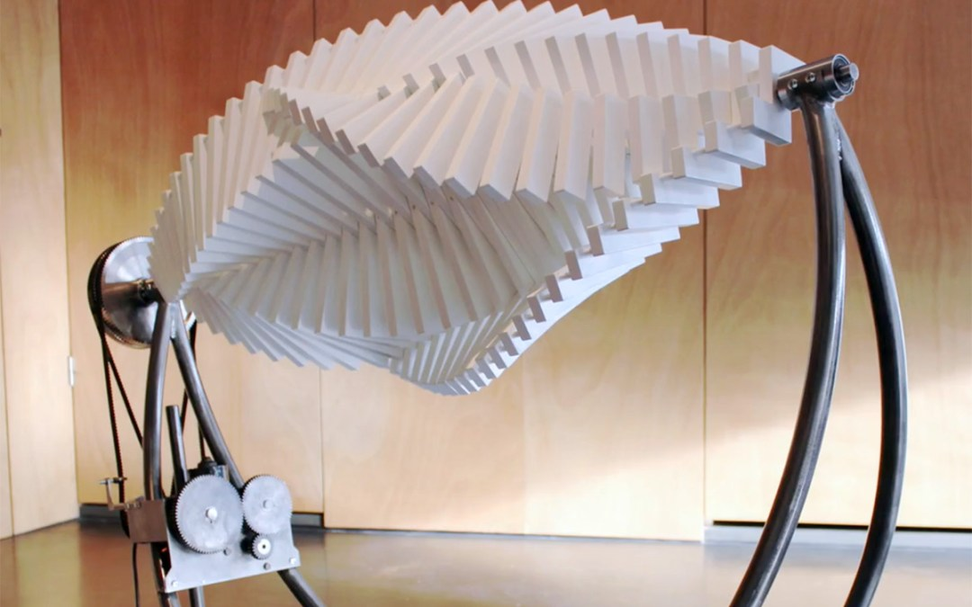 Hypnotic Kinetic Sculptures by Jennifer Townley Fuse Mathematics and Art