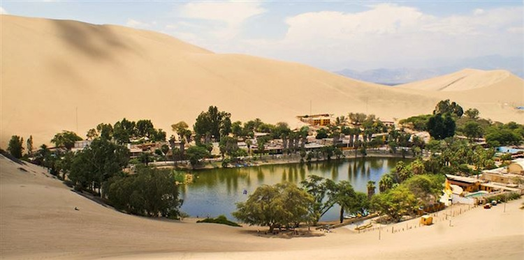 This Peruvian Oasis Town Is Out Of This World