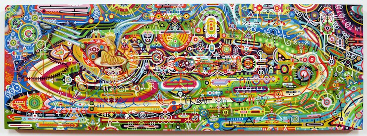 This Artist Got Cancer Of The Pineal Gland. His Paintings Will Leave You Speechless.