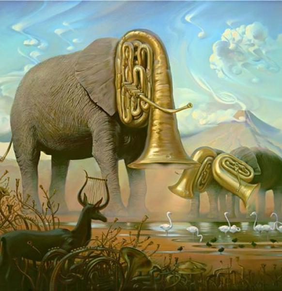 Crazy Awesome Paintings -african_sonata600_520