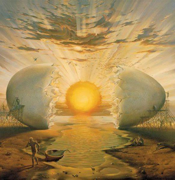 Crazy Awesome Paintings sunrise_by_the_ocean600_502