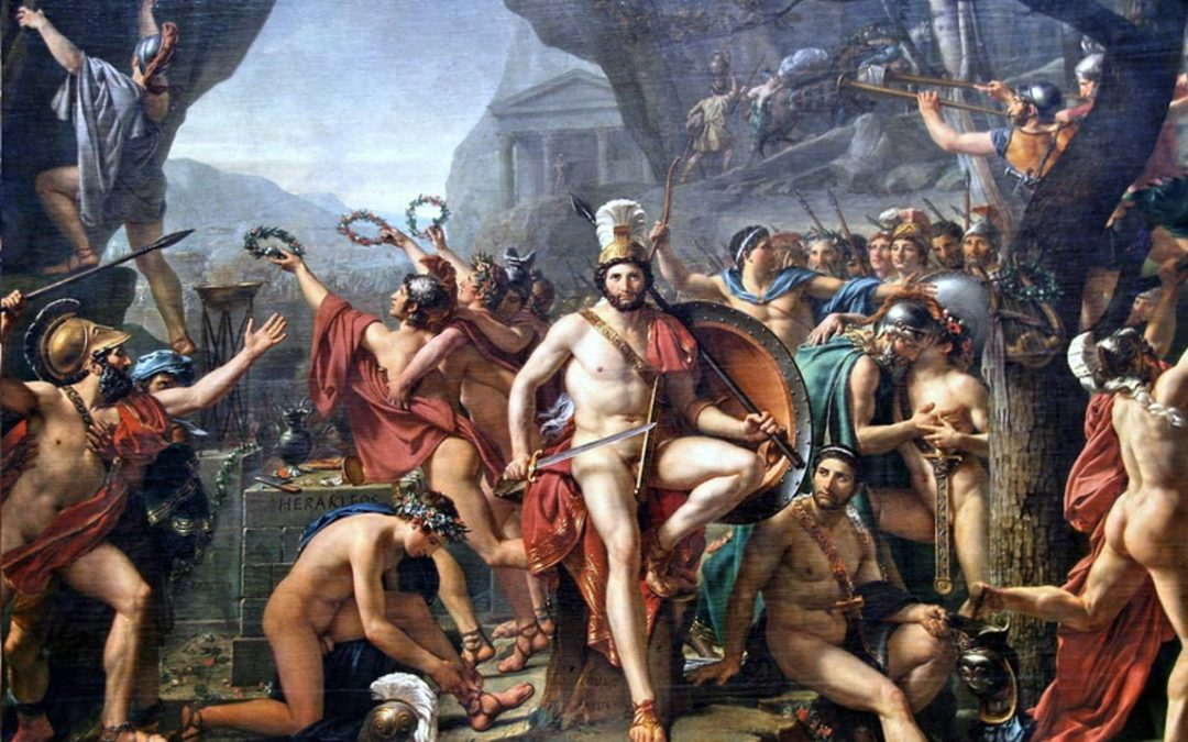 King Leonidas of Sparta and the Legendary Battle of the 300 at Thermopylae