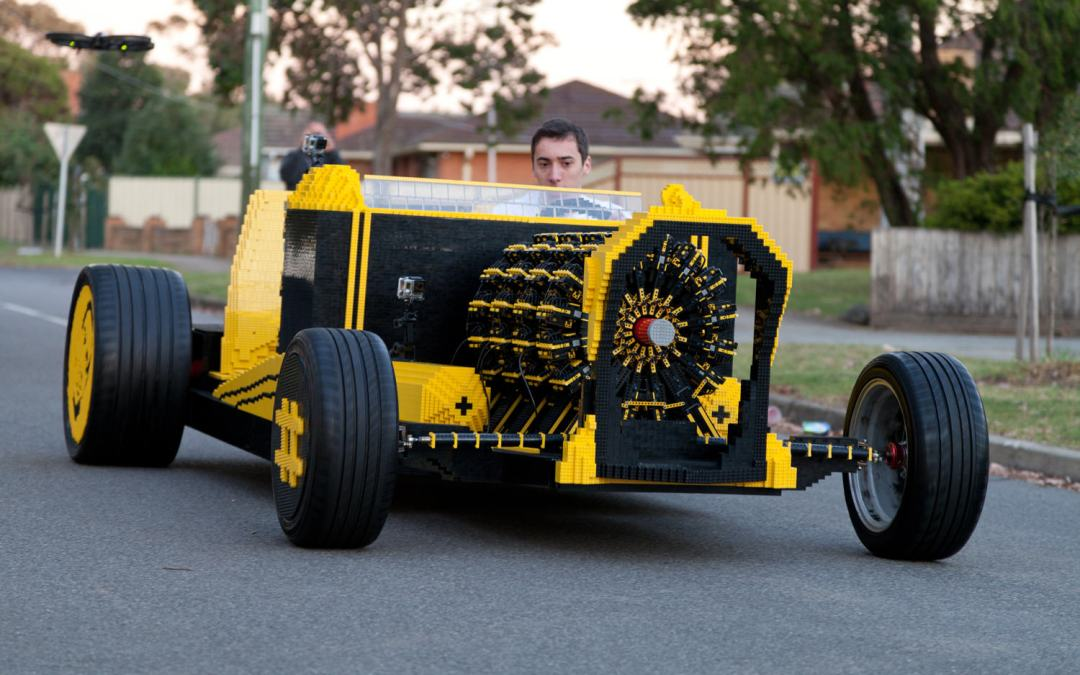 This Guy Built A Full-Size Lego Car That Runs 100% On Air