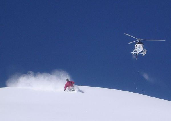 Top 10 Most Dangerous Sports in the World - Heli-skiing