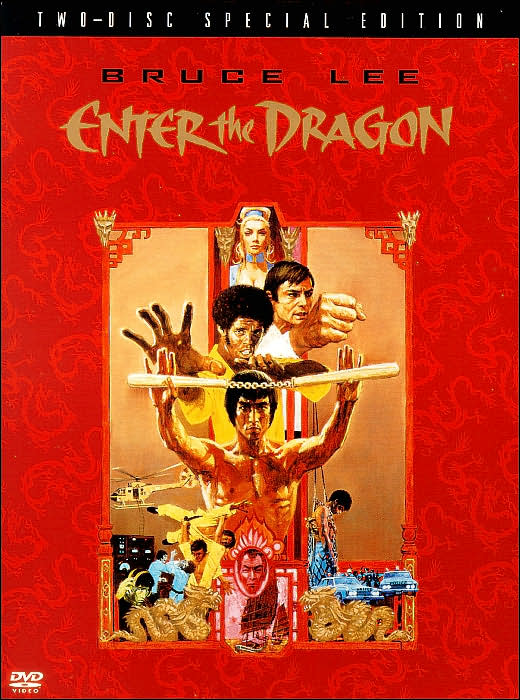 Top 5 Bruce Lee's Movies - Enter The Dragon Cover