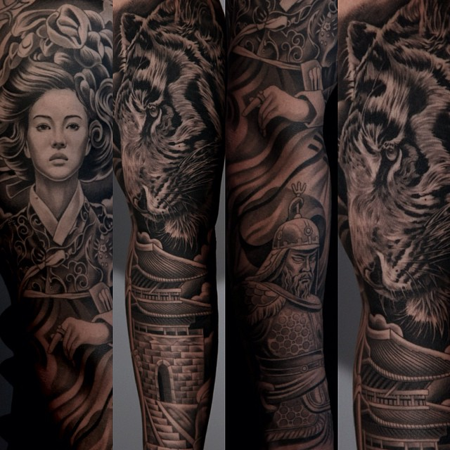 The Tattoo Art Of Jun Cha Is Absolutely Incredible!