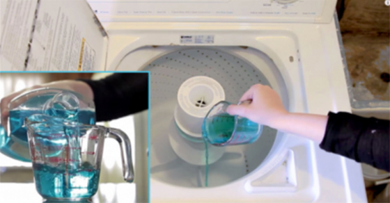 She Puts Mouthwash In Her Laundry. After I Saw What Happened, I'll Be Trying This Too!