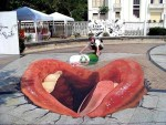 10 Amazing 3D Street Paintings