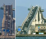 "Eshima Ohashi Bridge - The Terrifying Crazy Japanese ""Rollercoaster"" Bridge"