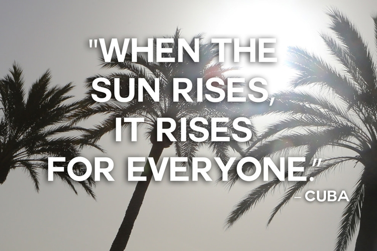 21 Beautiful And Inspirational Proverbs From Around The World - Sun - Cuba