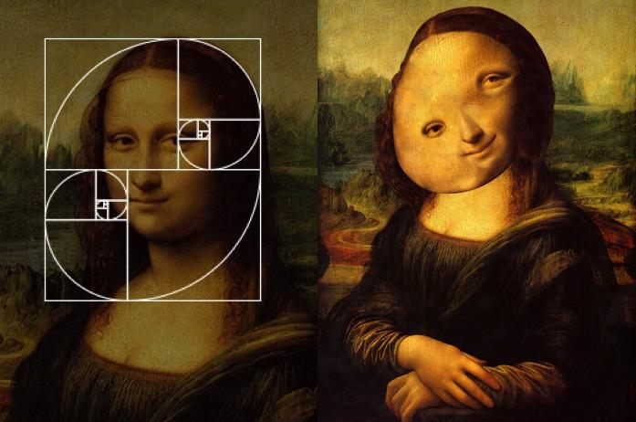 Someone just applied the Fibonacci sequence to celebrity faces. I laughed so hard.