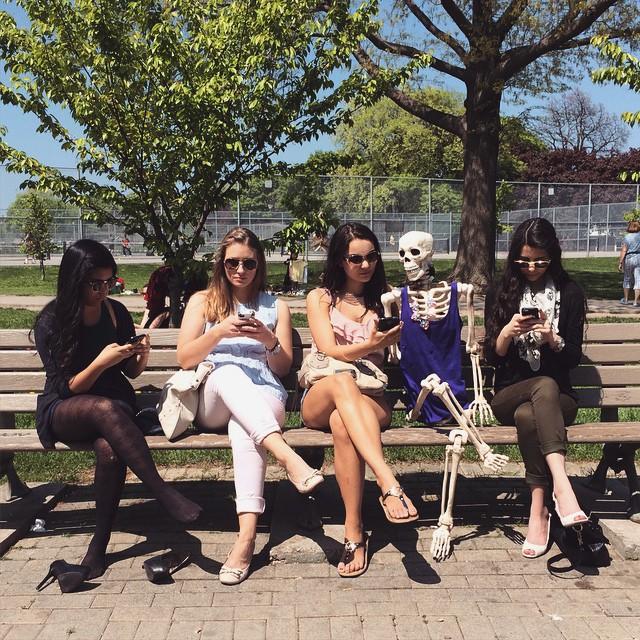 A Skeleton Living Like A Normal Girl Shares Her Best Moments on Instagram