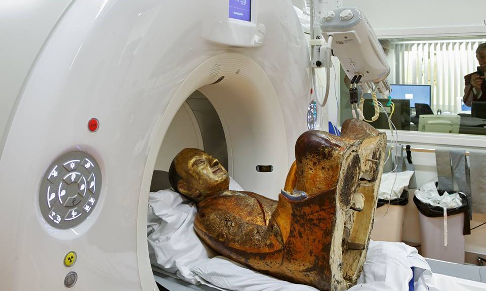 1000-Year-old Chinese Mummy Gets CT Scan in Amersfoort
