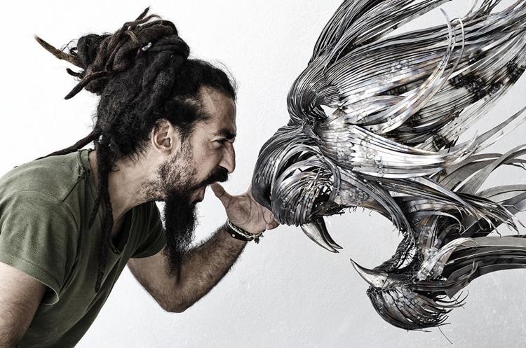metal-animal-masks-lion-roar