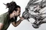 Incredible Animal Masks Made From Hammered Steel By Selcuk Yilmaz