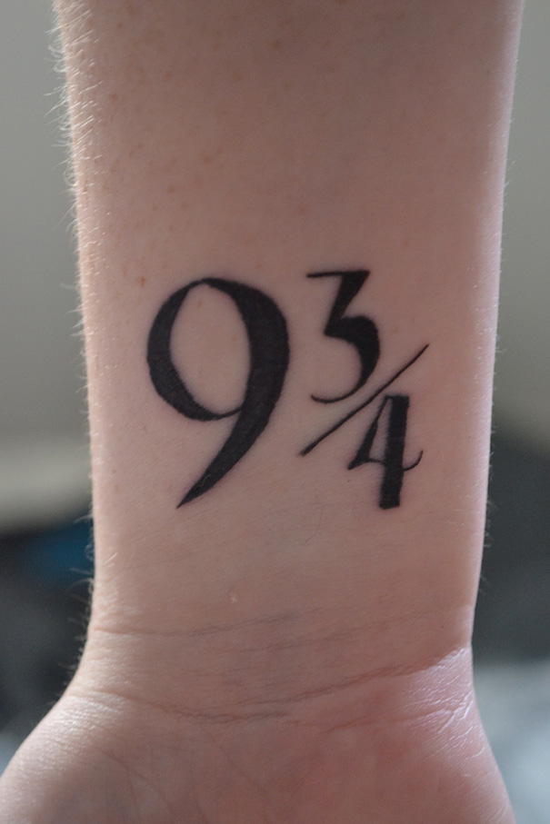 Book-Inspired Tattoos - Harry Potter Tattoo1