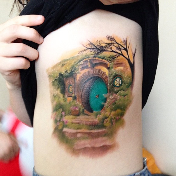 Book-Inspired Tattoos - The Hobbit Tattoo