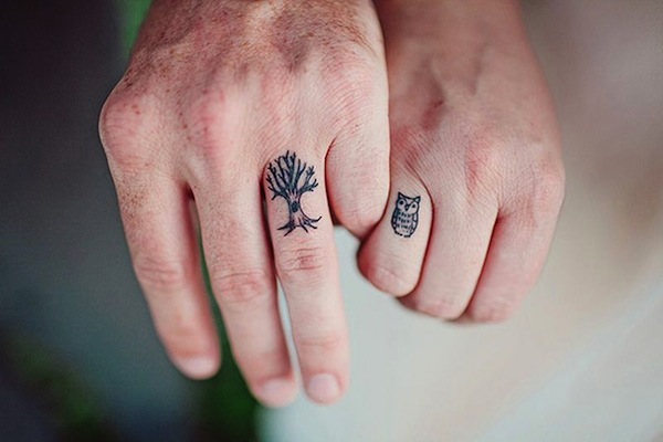 12 Couples With Cute Wedding Tattoos