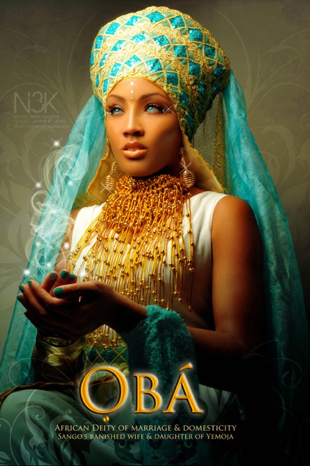 Remarkable Images of African Orisha Deities - Oba