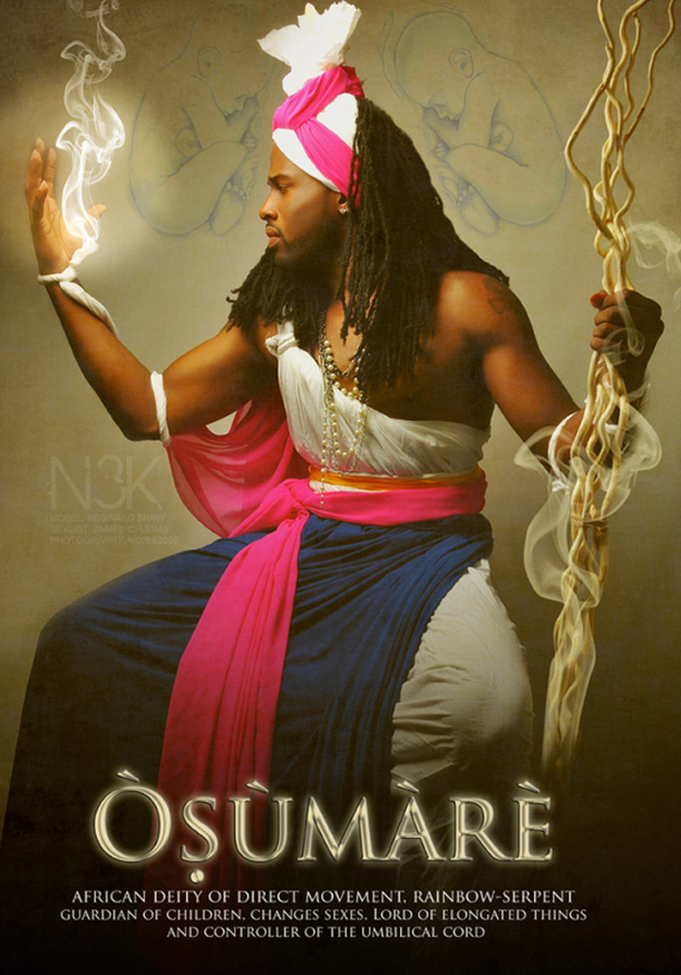 Remarkable Images of African Orisha Deities - Osumare