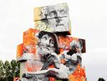The Street Art of PichiAvo Mixes Classical Art and Graffiti