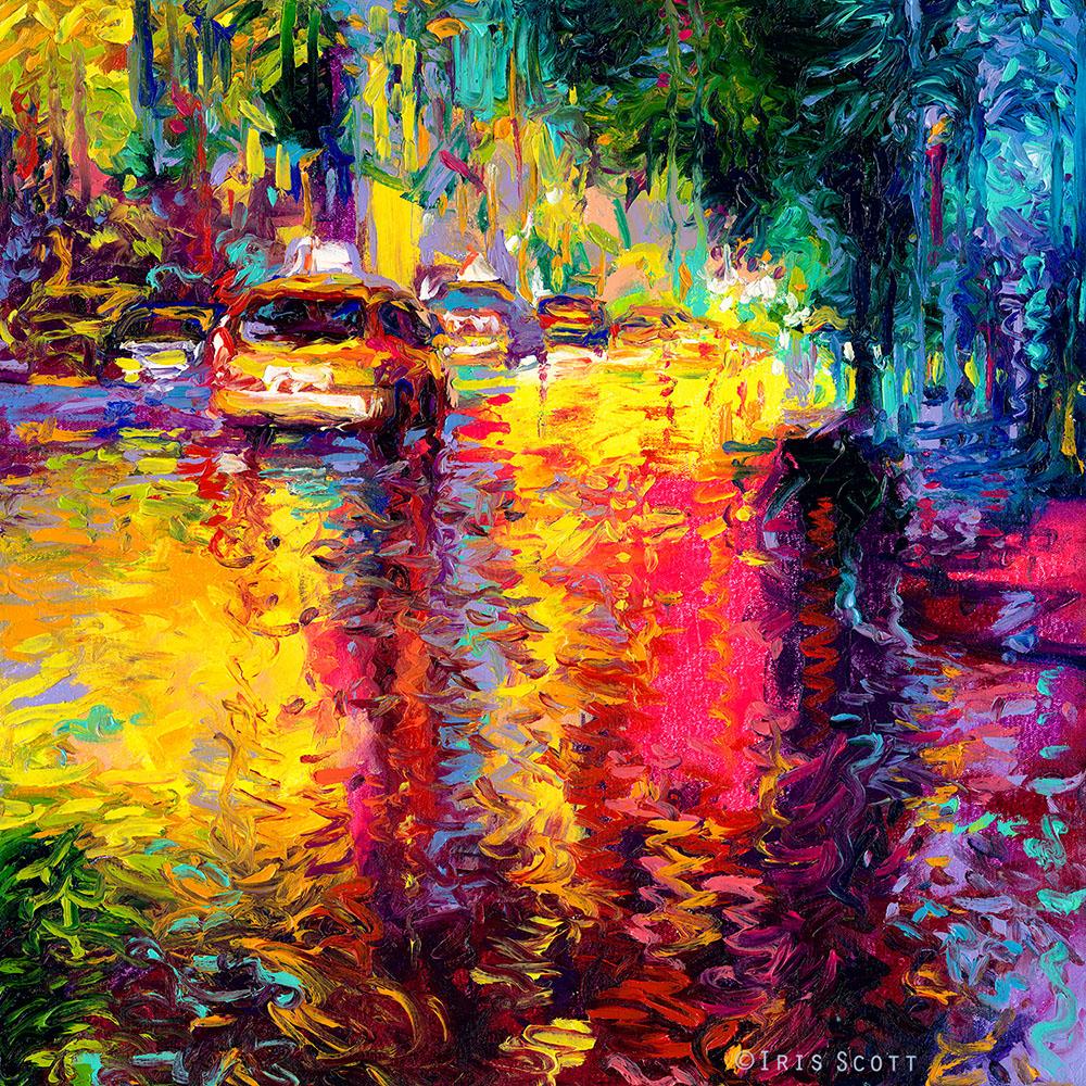 Oil Finger Paintings by Iris Scott 10
