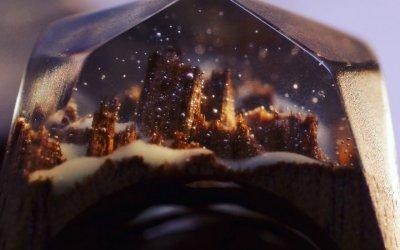 Amazing Miniature Worlds Inside Wooden Rings by Secret Wood