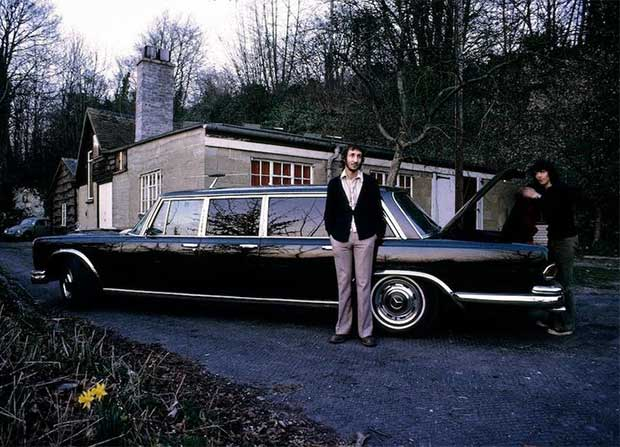 Rock Stars Cars -1. Pete Townshend – Mercedes S 600 Pullman