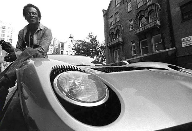 Rock Stars Cars - 11. Miles Davis – Lamborghini Miura