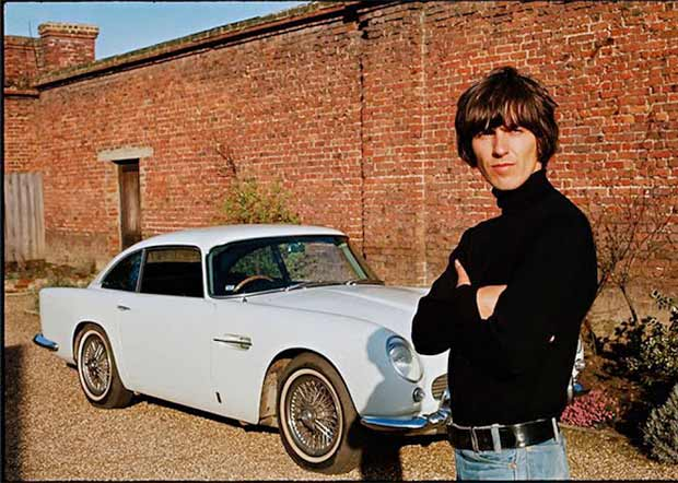 Rock Stars Cars - 15. George Harrison – Aston Martin DB5