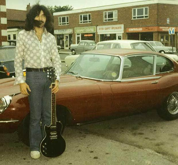 Rock Stars Cars - 16. Tommy Iommi – Jaguar E-Type