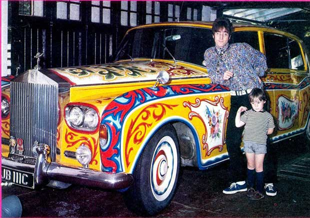 Rock Stars Cars - 5. John Lennon – Rolls Royce